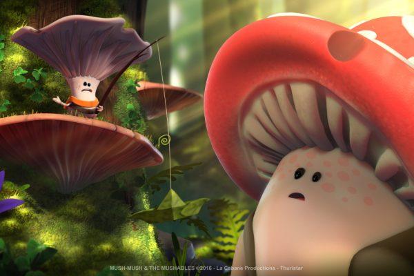 Mush-Mush and the Mushables Mush-Mush et les Champotes Luis forest